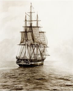 Old Ironsides, Sail 200 11'' x 14'' Print (Matted)
