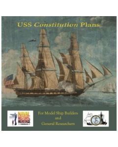USS Constitution Plans: For Model Ship Builders and General Researchers