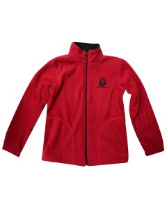 Youth Red ''USS Constitution'' Fleece Jacket