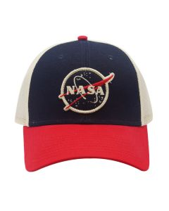 Color Blocked NASA Cap