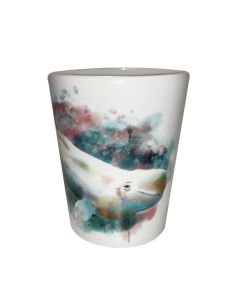 GAQ Watercolor Beluga Shot Glass