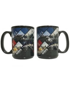 Intrepid Sea Air and Space Two-Tone Mug