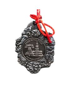 Pewter Liberty Bell Ornament