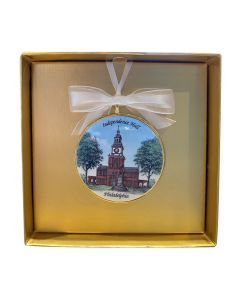 Independence Hall Ornament