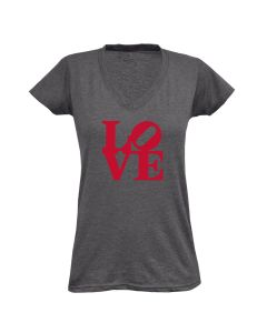 Ladies Gray LOVE Tee