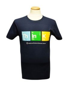 Adult 'THINK' Periodic Elements T-Shirt