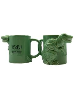 Green T. Rex AMNH 150th Anniversary Mug