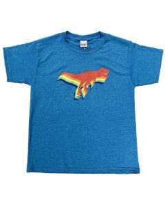 Youth Gradient Color T.Rex T-Shirt