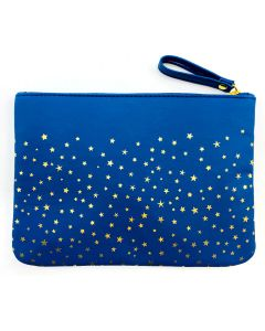 Starry Night Zippered Makeup Pouch