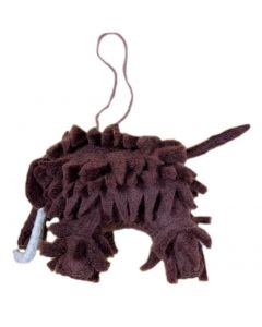 Handcrafted Felt Wooly Mammoth Ornament