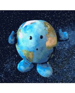 Plush Buddy Earth - Our Precious Planet