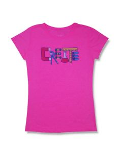 Girls Pink Create T-Shirt