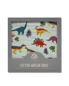 Jurassic World Cotton Muslin Quilt