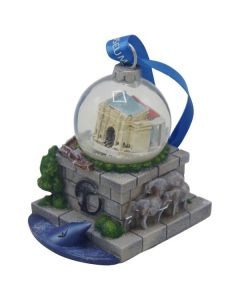 American Museum of Natural History Snowglobe Ornament