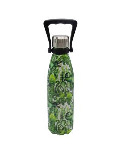 Green T. Rex Print Stainless Steel Water Bottle