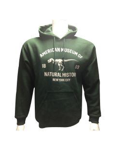 Adult Museum Logo Forest Green Hoodie