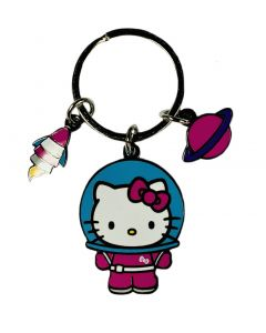 Hello Kitty Space Charms Keychain