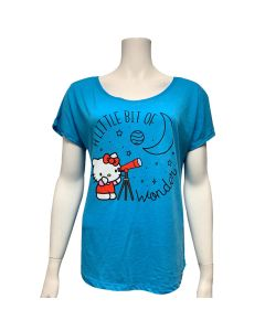 Ladies Hello Kitty A Little Bit of Wonder Dolman Top