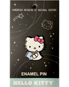 Hello Kitty with Notebook Pin