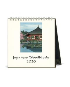 2020 Japanese Woodblock Desk Calendar