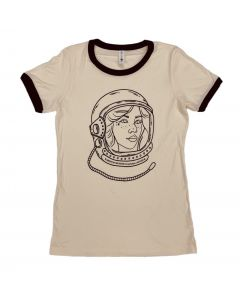 Ladies Female Astronaut T-Shirt