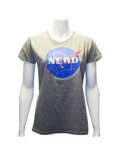 Ladies NASA Nerd T-Shirt