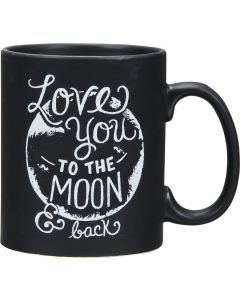 Love You To The Moon and Back Coffee Mug