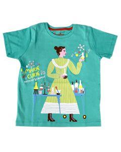 Youth Marie Curie Physicist T-Shirt
