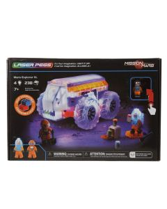 Laser Pegs Mission Mars Explorer XL