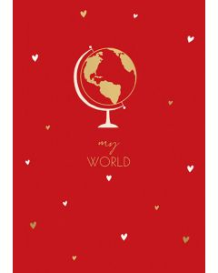 My World Valentine's Day Card