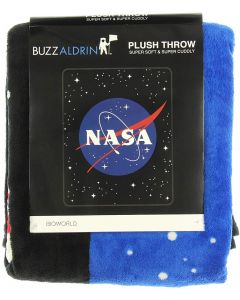 Buzz Aldrin NASA Plush Throw