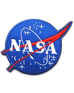 NASA Space Program Vector Patch