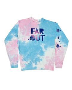 Adult LS Tie-Dye Far Out Sweatshirt