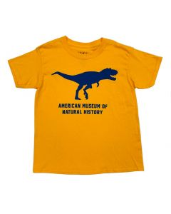 Youth Bright Gold T.Rex Silhouette T-Shirt