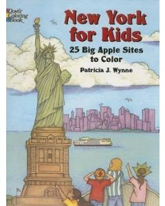 New York for Kids Coloring Book