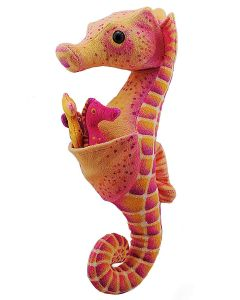 Plush 12 Inch Seahorse With Babies