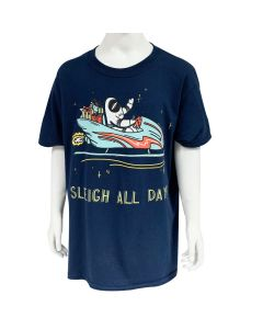 Youth Sleigh All Day Astronaut T-Shirt
