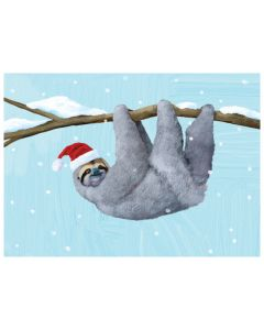 Box of 15 Merry Slothmas Cards