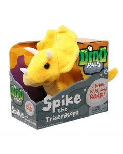 Spike The Triceratops Animatronic Dino Pal In Box