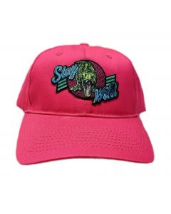 Adult Hot Pink Stay Wild Cap