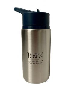 Kids Stainless Steel Water Bottle with Museum Logo