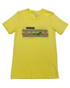 Adult T.Rex Subway Train T-Shirt