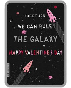 Together We Can Rule The Galaxy Valentine's Day Card