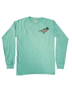 Adult Turquoise Stay Jawsome LS T-Shirt