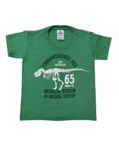 Youth Green T-Shirt Glow -In-The-Dark T. Rex