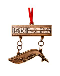 150th Anniversary Blue Whale Ornament