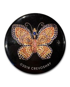 Round Butterfly Magnet