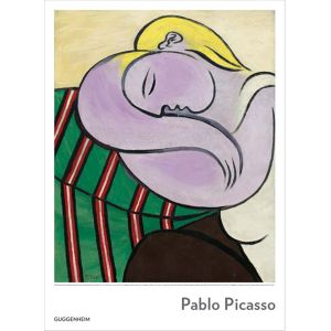 Pablo Picasso:  Woman with Yellow Hair Poster