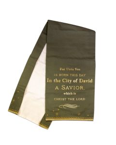 ''For Unto You a Child is Born'' Table Runner