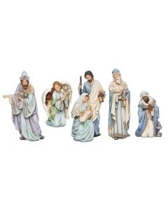 5-Piece ''Blue Robe'' Nativity Set
